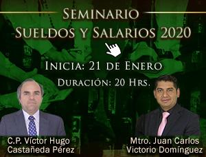 Seminario en Sueldos y Salarios 2020