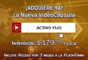 Activo Fijo - VideoCápsulas de Aprendizaje en NIF