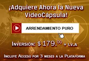 Arrendamiento Puro - VideoCápsulas de Aprendizaje en NIF