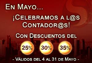 En Mayo... ¡Celebramos a l@s Contador@s!